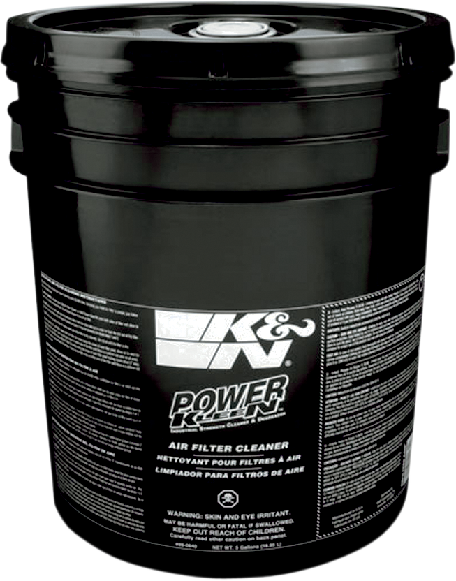 K&N 5 Gallon Power Kleen Motorcycle Offroad Dual Sport Air Filter Cleaner Spray