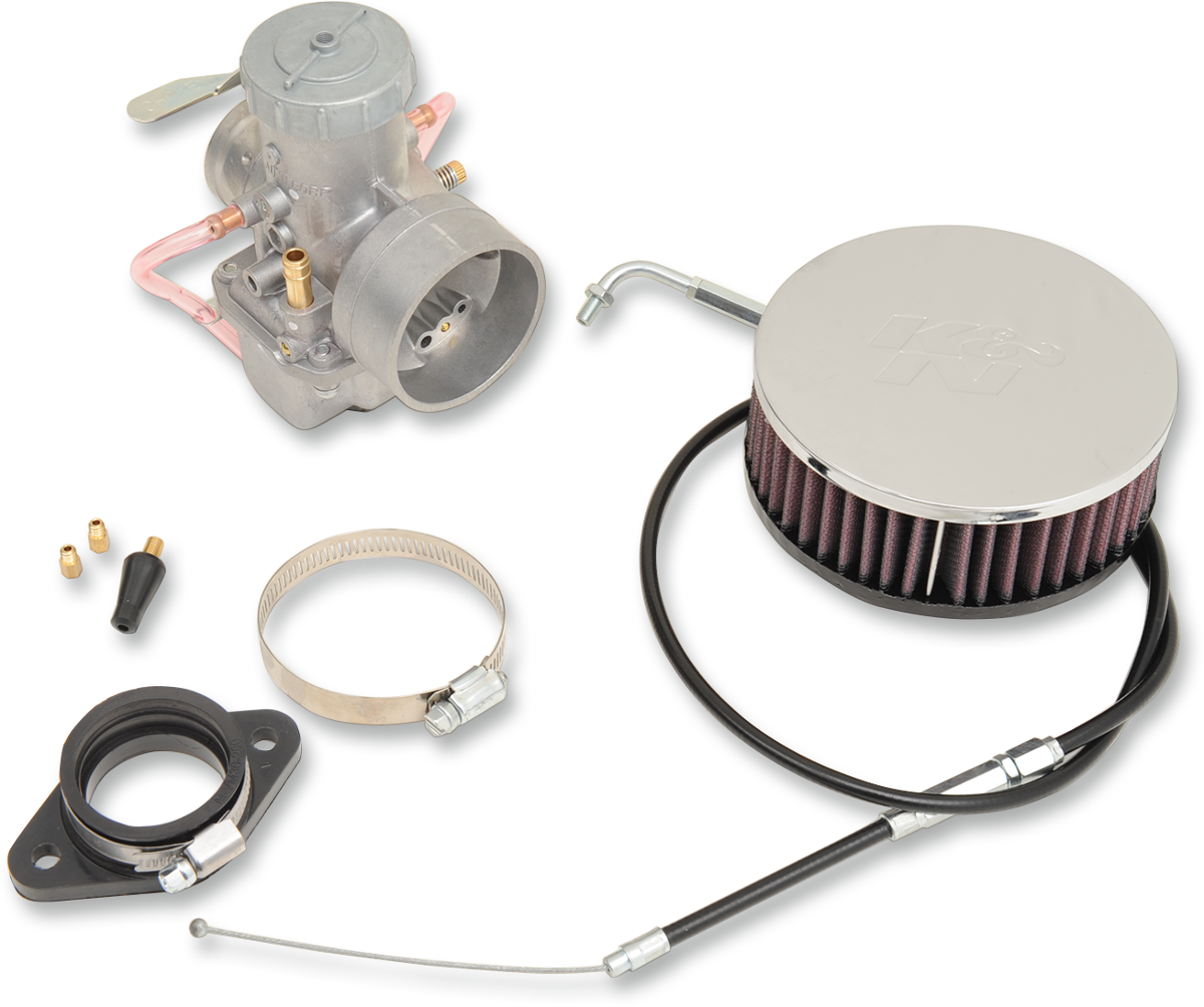 Sudco 38mm Carburetor & Air Cleaner Kit for 57-89 Harley Touring Sportster FL FX