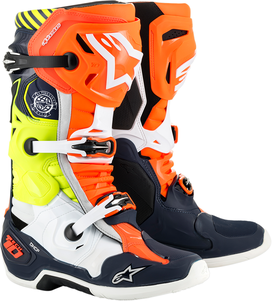 Alpinestars Mens Tech 10 Limited Edition Mxon Offroad MX Dirt Bike Racing Boots